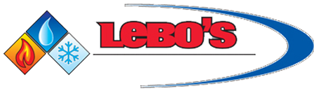 Lebo's Plumbing, Heating & Air Conditioning Logo